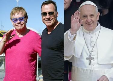 Elton John o papieżu: