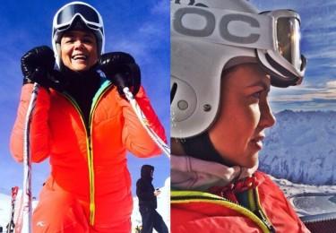 Kinga Rusin odpoczywa na nartach (ZDJĘCIA)