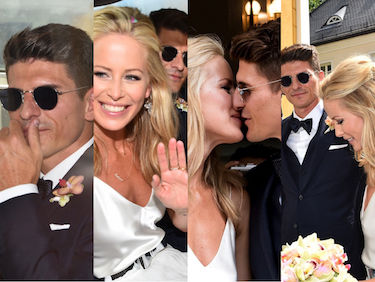 Mario Gomez też się ożenił. Z siedem lat starszą modelką (ZDJĘCIA)