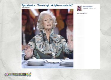 Rafalala o Tyszkiewicz.