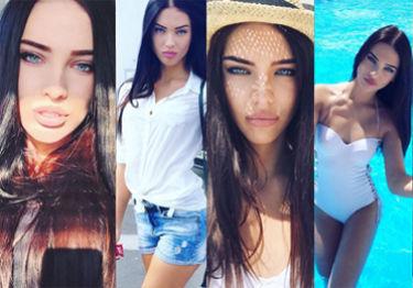 """Ukraińska Megan Fox"" robi karierę na Instagramie (ZDJĘCIA)"