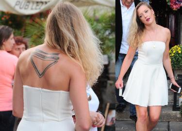 Lara Gessler chwali się tatuażem na plecach! ŁADNY?