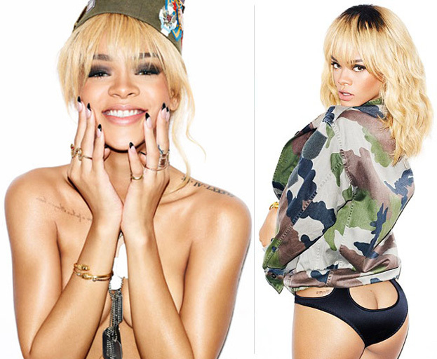 Rihanna POKAZUJE TYŁEK! Seksowny?