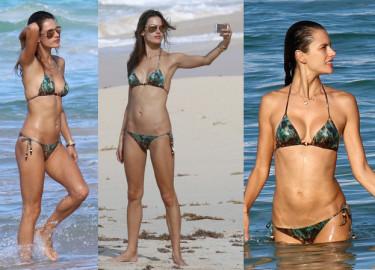 33-letnia Ambrosio w bikini! (ZDJĘCIA)