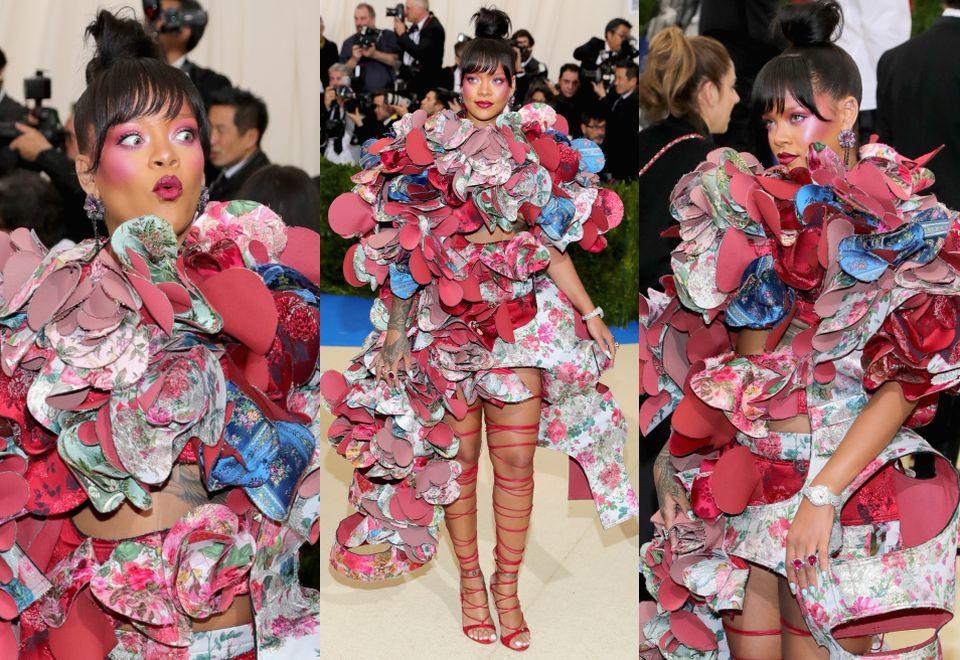 Rihanna w Comme des Garçons