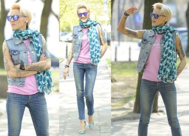 Szczupła Chylińska pozuje dla paparazzi! (ZDJĘCIA)