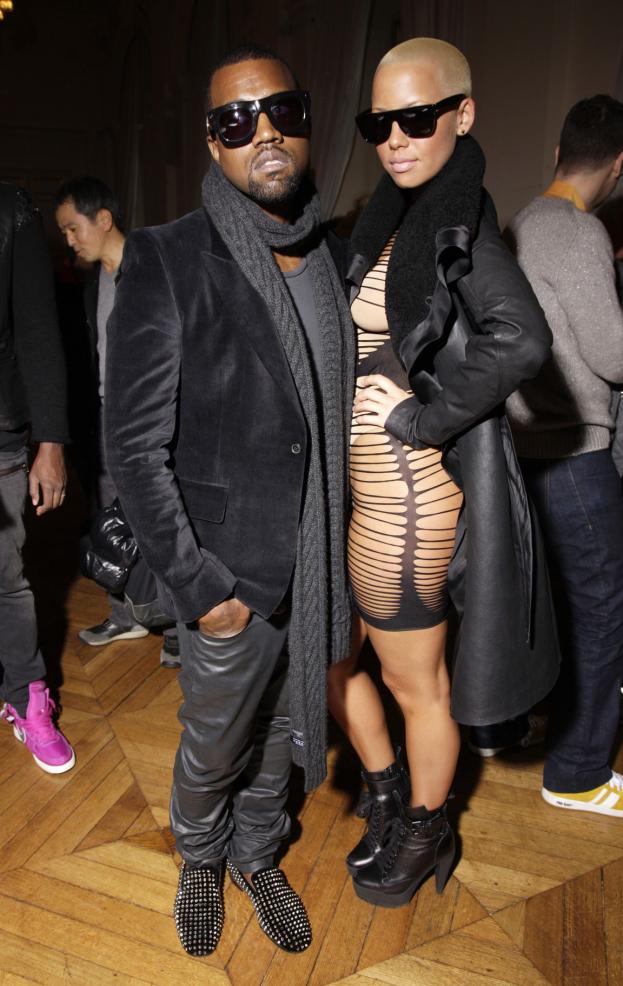 """Amber Rose chce 10 MILIONÓW DOLARÓW od Kanye Westa! Straszy, że opowie o jego """"brudnych sekretach"""""""