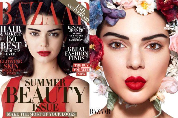 "Kendall Jenner na okładce ""Harper's Bazaar"""