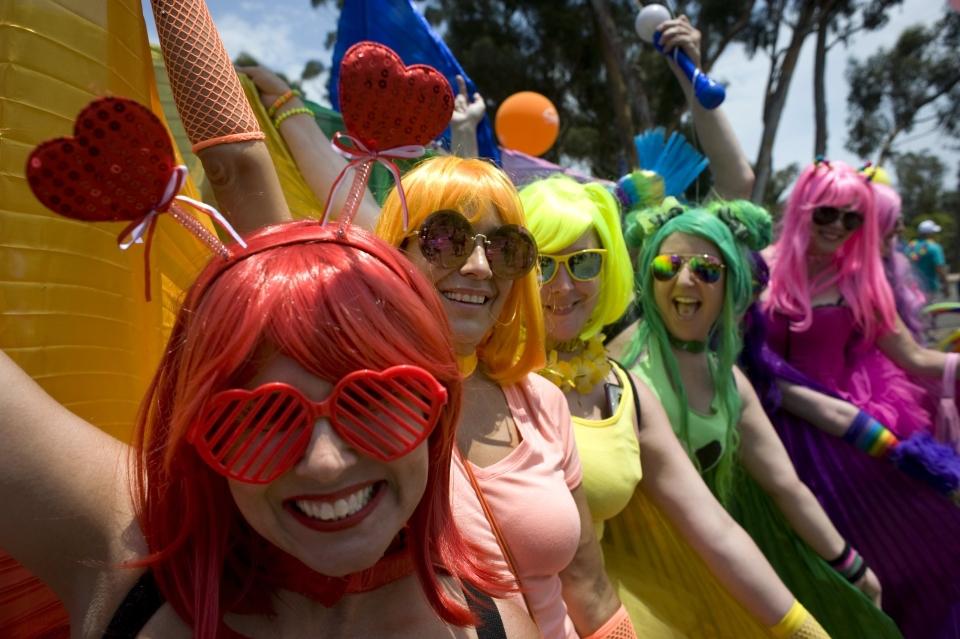 Pride Parade w San Diego
