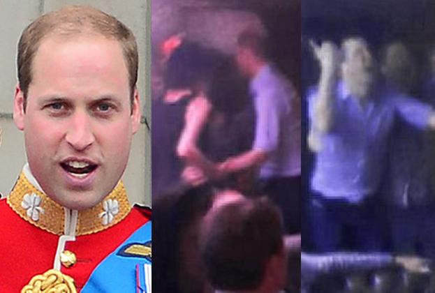 Książę William imprezuje bez Kate w nocnym klubie! (WIDEO)