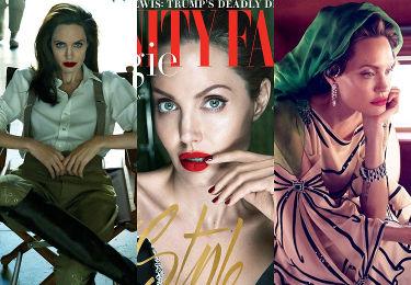"""Zobaczcie """"terapeutyczne"""" zdjęcia Angeliny Jolie dla """"Vanity Fair""""! Robią wrażenie? (ZDJĘCIA)"""