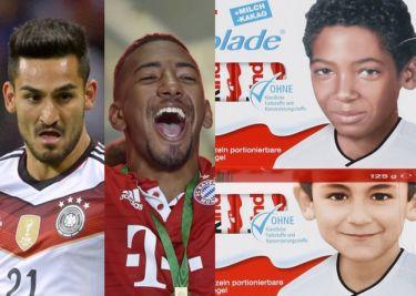 Na niemieckich czekoladkach Kinder pojawiły się twarze... ciemnoskórych piłkarzy-imigrantów!