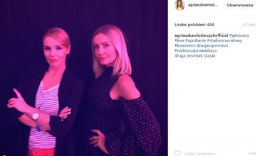 """Włodarczyk chwali się zdjęciem z Szulim: """"Jak siostry"""" (FOTO)"""