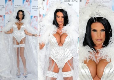Katie Price przebrana za... Królową Śniegu? (ZDJĘCIA)