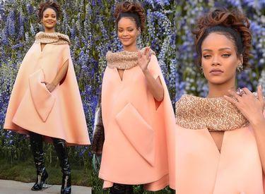 Zjawiskowa Rihanna na pokazie Diora (ZDJĘCIA)