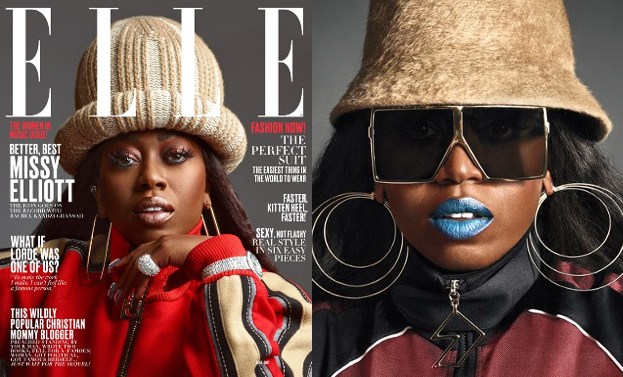 "45-letnia Missy Elliott wraca na okładce ""Elle"""