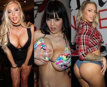 Tak wyglądają TARGI BRANŻY PORNO w Las Vegas (ZDJĘCIA)