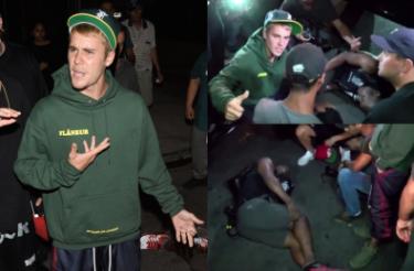 """Bieber POTRĄCIŁ PAPARAZZO! """"Natychmiast wysiadł z samochodu i ruszył na pomoc"""""""