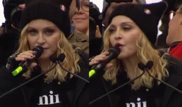 """Madonna na Marszu Kobiet: """"Trump starał się stworzyć nam fałszywe poczucie bezpieczeństwa. Pokonamy te mroczne czasy!"""""""