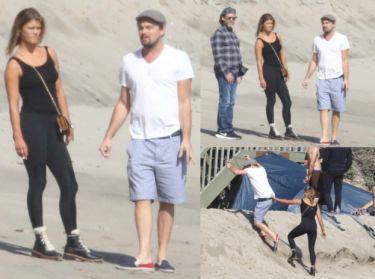 TYLKO U NAS: Leonardo DiCaprio i Nina Agdal szukają domu do wynajęcia! (ZDJĘCIA)