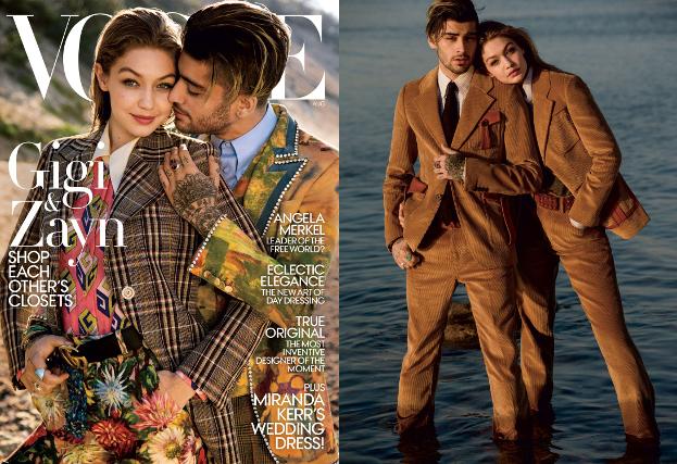 """Gigi Hadid i Zayn Malik razem na okładce """"Vogue'a""""!"""