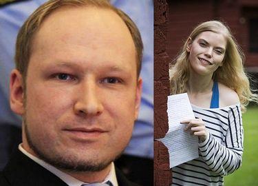 """Media znalazły dziewczynę Breivika! """"Kocham go za to, kim jest, a nie za to, co zrobił!"""""""