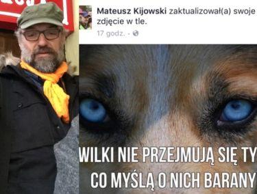 Kijowski odpowiada krytykom i siostrze