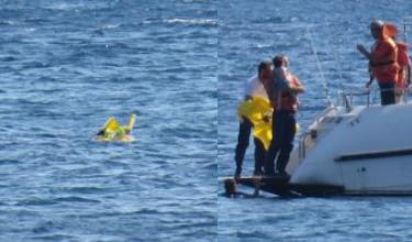10-miesięczne dziecko dryfowało u wybrzeży Turcji! Kilometr od brzegu!