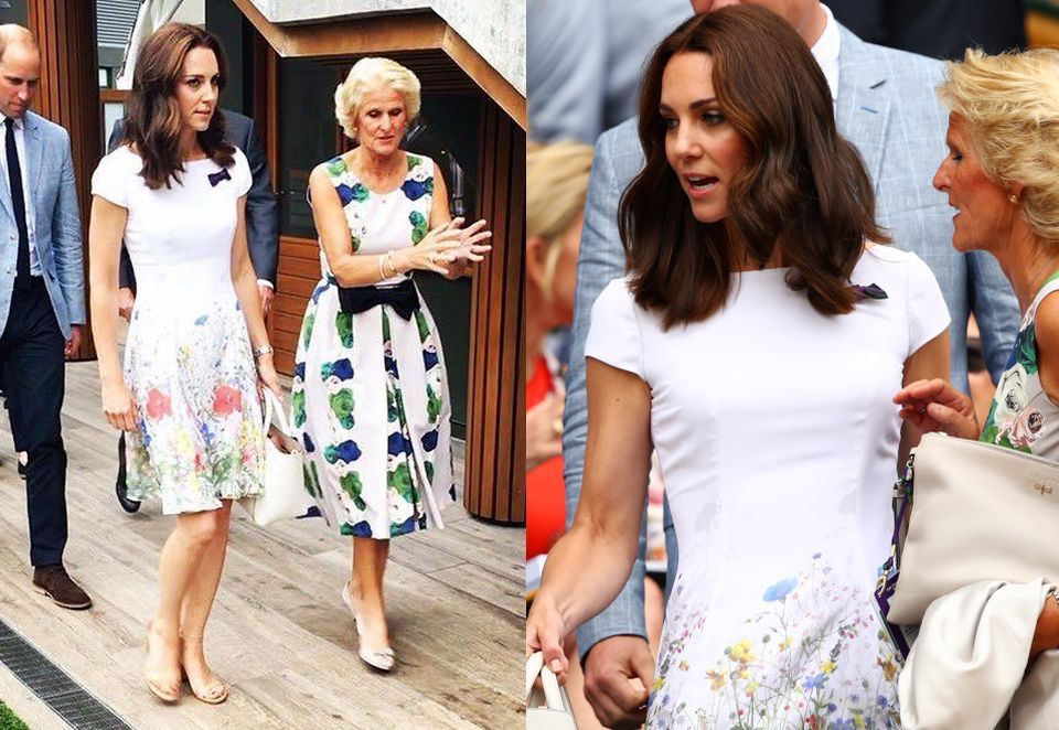 Kate i William oglądają finał Wimbledonu