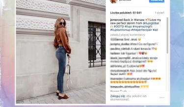 Jessica Mercedes chwali się PUPĄ w obcisłych dżinsach