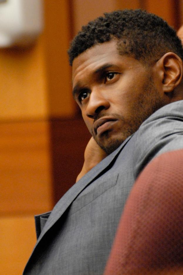 Usher frontaler Akt