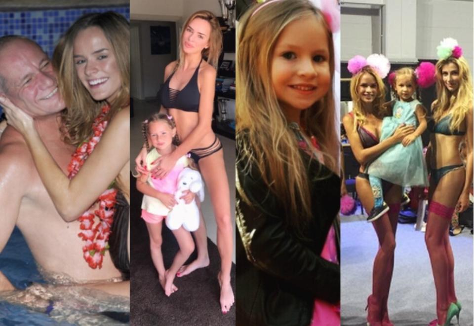 Monika Ordowska próbuje się wypromować za pomocą córki na Instagramie