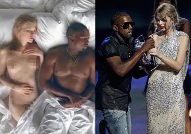 """Taylor Swift pozwie Kanye Westa za """"nagą Taylor"""" z teledysku?"""