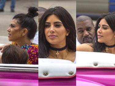 Kardashianki i Kanye West też przylecieli na Kubę! (ZDJĘCIA)