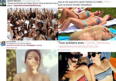 Wściekłe Francuzki pokazują zdjęcia w bikini!