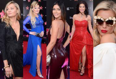 Tłum celebrytek na czerwonym dywanie: Socha, Węgrowska, Andrzejewicz, Doda, Halejcio... (ZDJĘCIA)