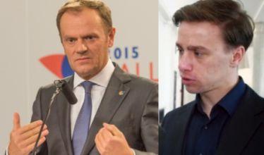 """Krzysztof Bosak o Donaldzie Tusku: """"Nie mogę go szanować! Wszystko robił rękami swoich ludzi"""""""