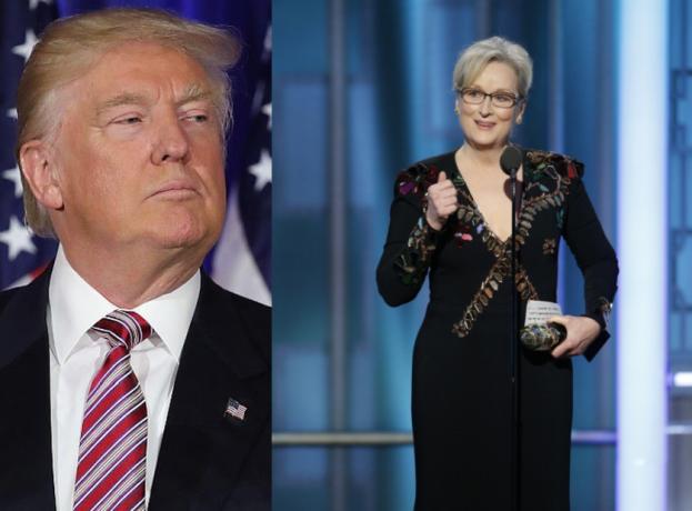 """Meryl Streep SKRYTYKOWAŁA TRUMPA podczas Złotych Globów: """"Hollywood stworzony jest przez przybyszy i cudzoziemców!"""""""
