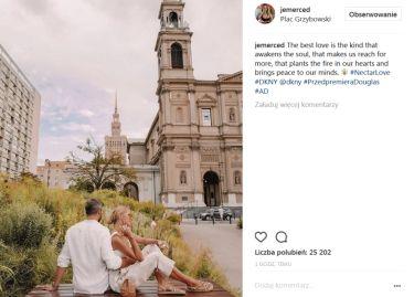 """""""Romantyczna"""" Jessica Mercedes CHWALI SIĘ CHŁOPAKIEM i promuje perfumy  (FOTO)"""