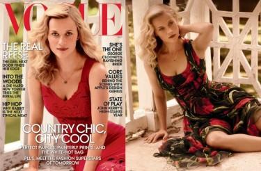 Piękna Reese Witherspoon na okładce