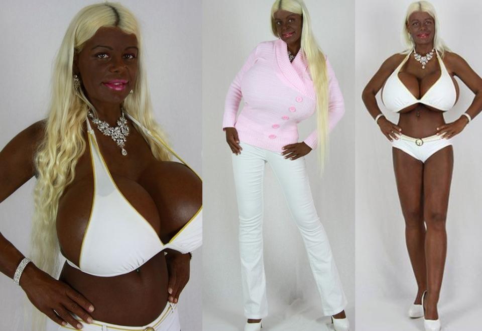 Tinder africano pecho