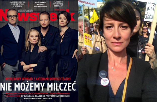 """Ostaszewska, Saramonowicz i Cielecka zamierzają stworzyć własny ruch? """"Ogłosimy w całej Polsce Manifest i Postulaty!"""""""