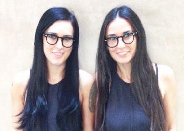 Demi Moore z córką. Wyglądają jak bliźniaczki! (GALERIA)