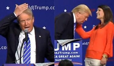 """Trump walczy o fotel prezydenta USA: """"Nie noszę tupecika! To moje włosy. Przysięgam!"""""""