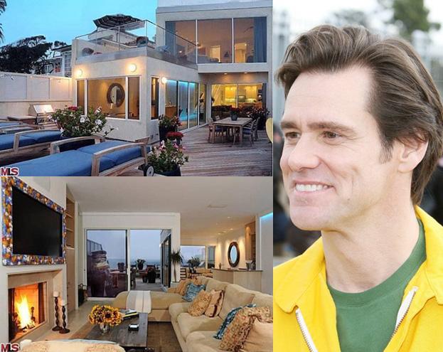 Jim Carrey sprzedał dom w Malibu! (ZDJĘCIA) - PUDELEK