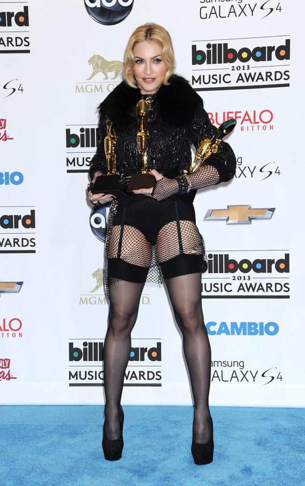Madonna w... POŃCZOCHACH! (ZDJĘCIA)