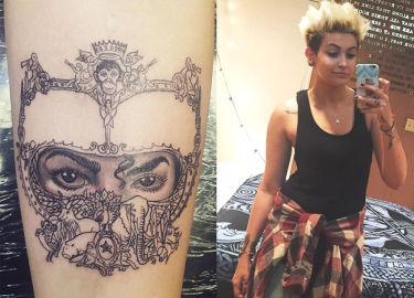 Paris Jackson zrobiła sobie tatuaż na cześć ojca! (FOTO)