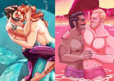Disney w wersji dla mężczyzn...