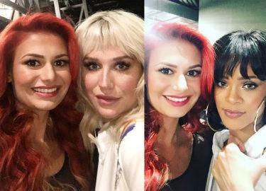 Ola Gintrowska pozuje z Rihanną i Keshą! (ZDJĘCIA)