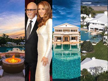 Celine Dion sprzedaje dom z trzema basenami. Chce za niego... 45 MILIONÓW DOLARÓW! (ZDJĘCIA)